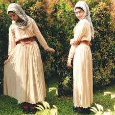 بالصور فساتين محجبات مراهقات , احدث تصميمات ملابس البنات 527 6