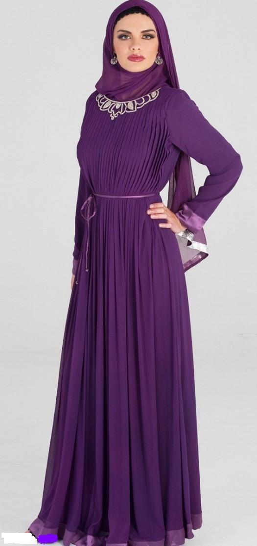 بالصور فساتين محجبات مراهقات , احدث تصميمات ملابس البنات 527 8