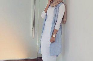 بالصور موضة الحجاب 2019 , لفات حجاب جديدة بالصور 528 10 310x205
