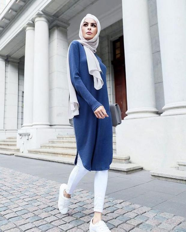 2fd921e0cdb4a موضة الحجاب 2019