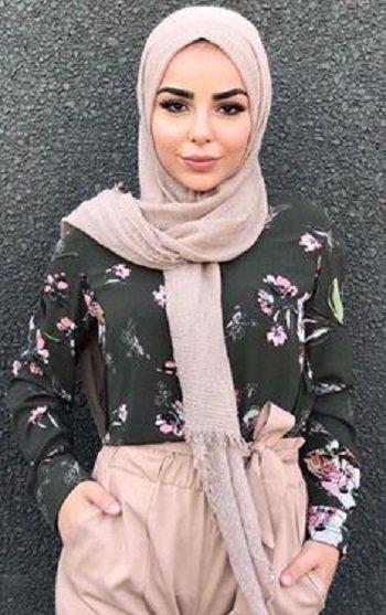 b64bc80c78807 حجاب 2018  حجابات 2018  موديلات حجاب 2018 ...