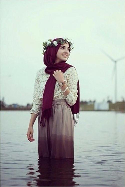 بالصور موضة الحجاب 2019 , لفات حجاب جديدة بالصور 528 8