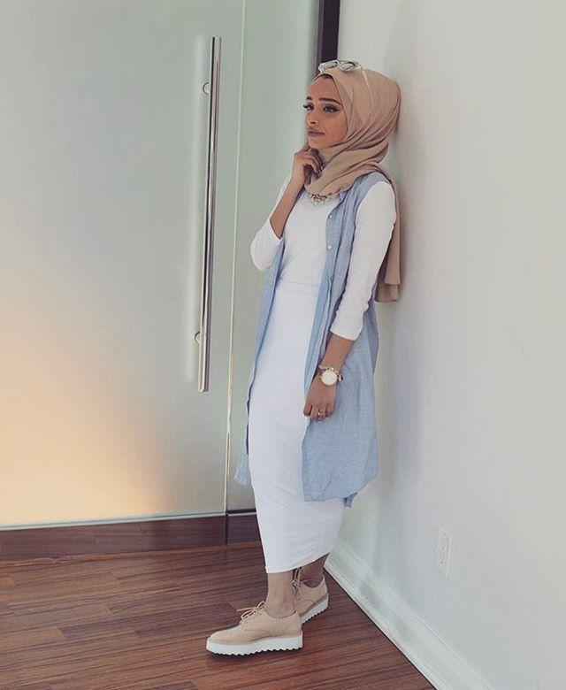 f952b7ce3 موضة الحجاب 2019 , لفات حجاب جديدة بالصور - فساتين