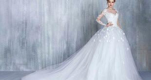 صورة جديد فساتين زفاف 2020 , لكل عروسة موضة فساتين جديدة 96 10 310x165