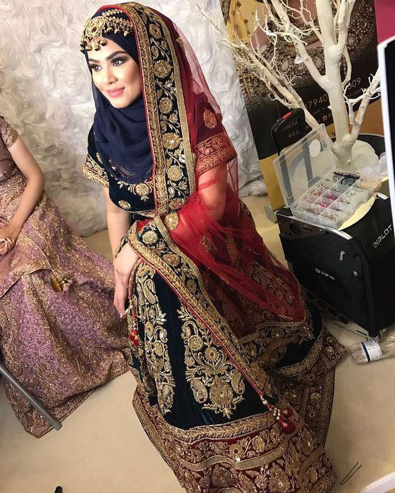 بالصور ملابس هندية للمحجبات 2019 , جمال وشياكه مافيش كده 267 7