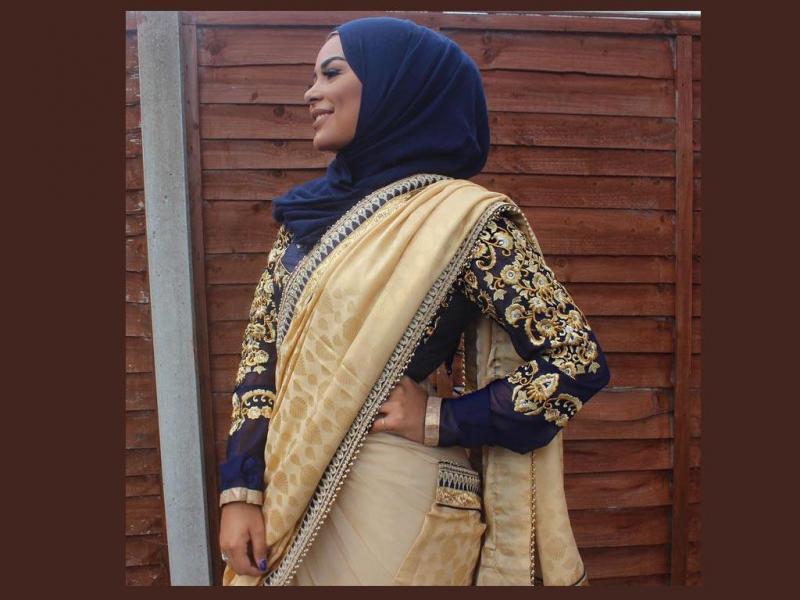 بالصور ملابس هندية للمحجبات 2019 , جمال وشياكه مافيش كده 267 8
