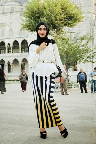 بالصور ملابس محجبات محتشمة 2019 , رقة وجمال مش طبيعي 303 6