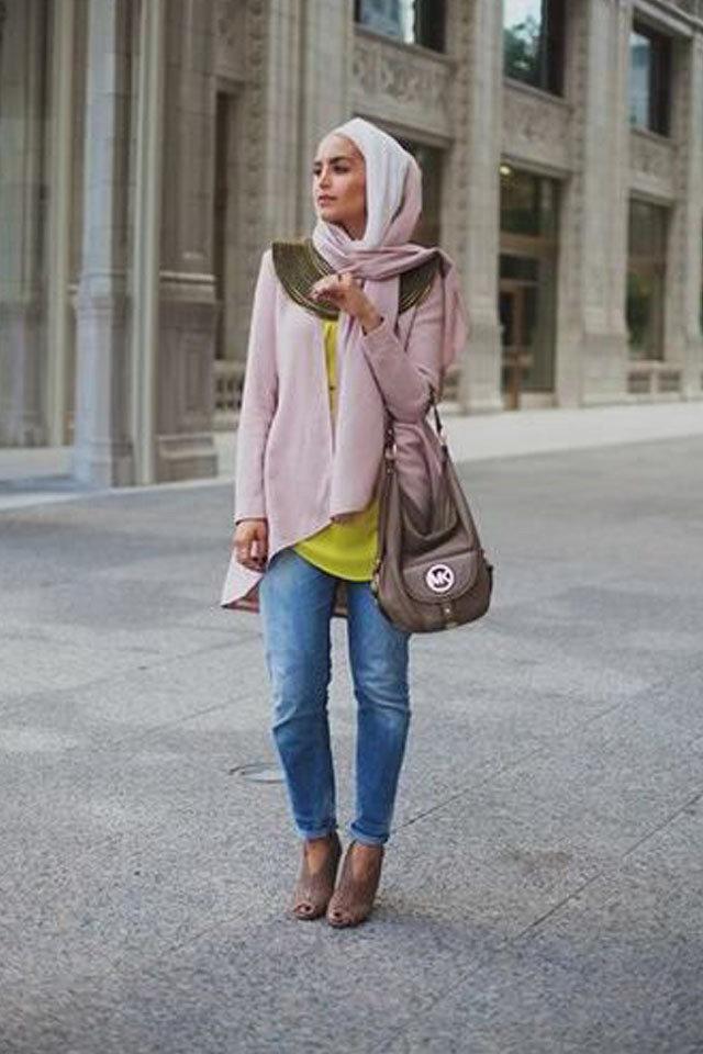 صورة ملابس محجبات محتشمة 2019 , رقة وجمال مش طبيعي