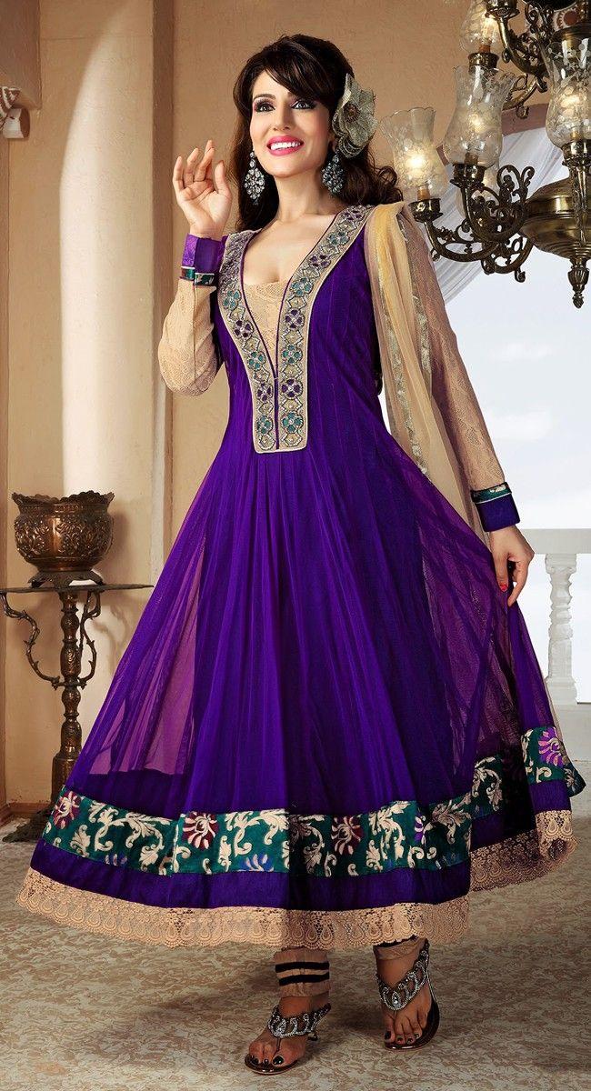 بالصور ازياء هندية للاعراس , جمال الالون يخطف العيون 339 7