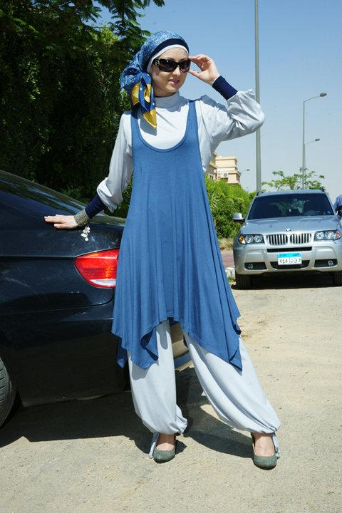 29358e0ac43e5 اجمل ملابس محجبات جديدة 2019