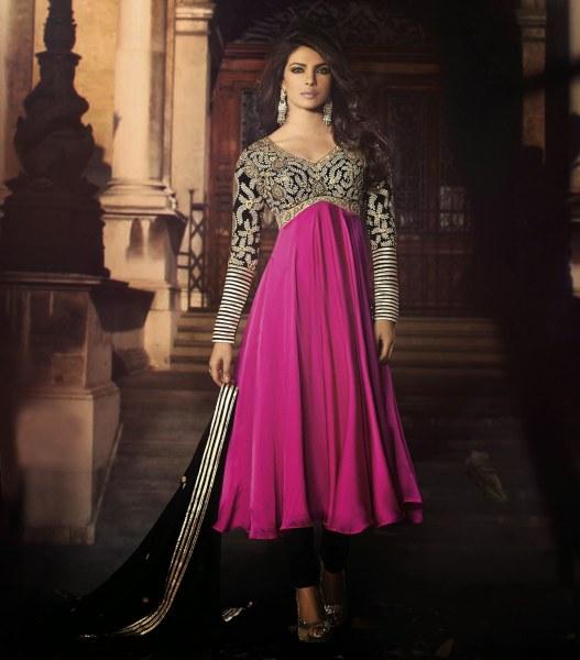 صورة ازياء هندية روعة 2020 , ملابس هندي جميلة , يا خرابي علي الحلاوة