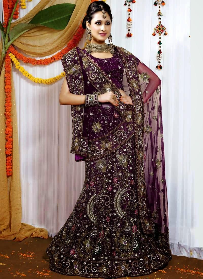 صورة فساتين اعراس هندية 2019 , احدث صيحات الموضة