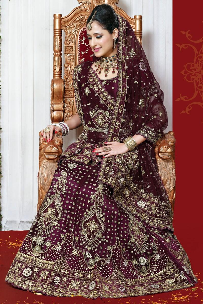 صوره فساتين اعراس هندية 2018 , احدث صيحات الموضة