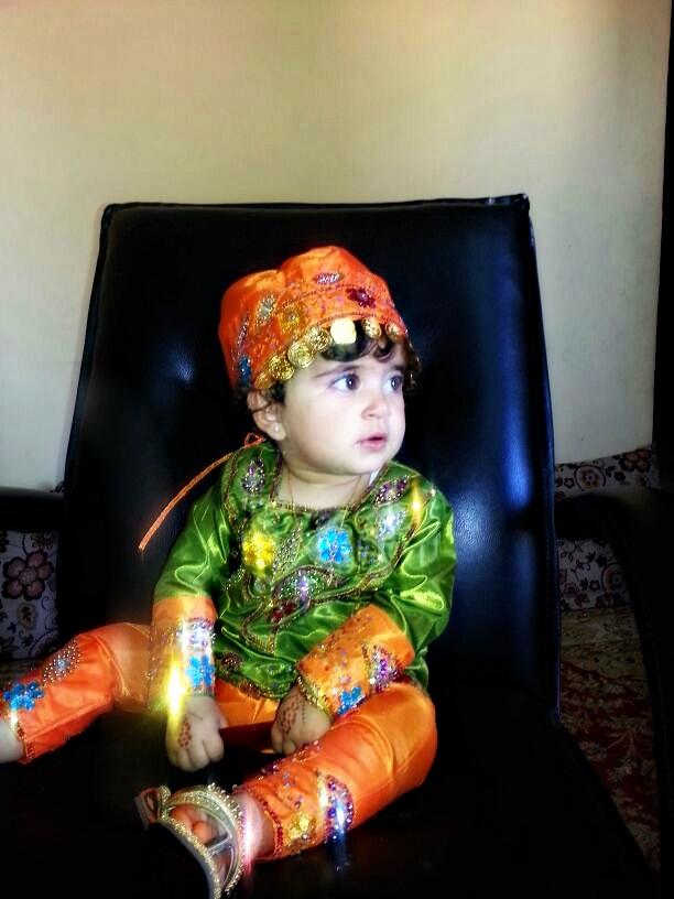 بالصور ازياء ظفارية للاطفال , ملابس عمانية , طفولة جميلة ولذيذة 418 5