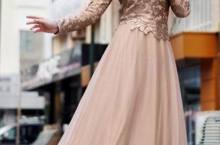بالصور فساتين محجبات تركية 2019 , ملابس التركيات , جمال ورقة فظيعه يا بنات 456 11 310x205