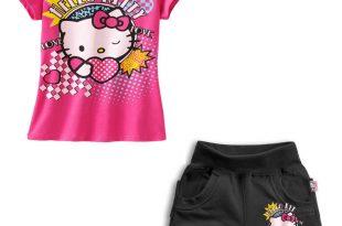 صورة احلى الملابس الصيفيه للاطفال 2020 , طفولة مميزة معانا فقط