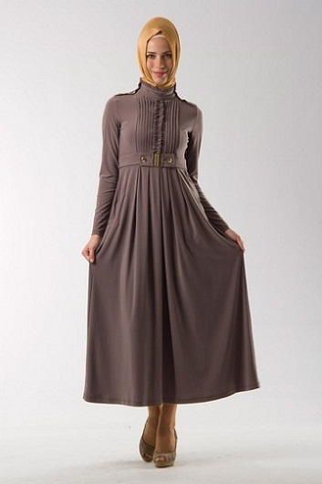 صورة ملابس محجبات بناتي 2019 , شياكة ملهاش حدود تجنن