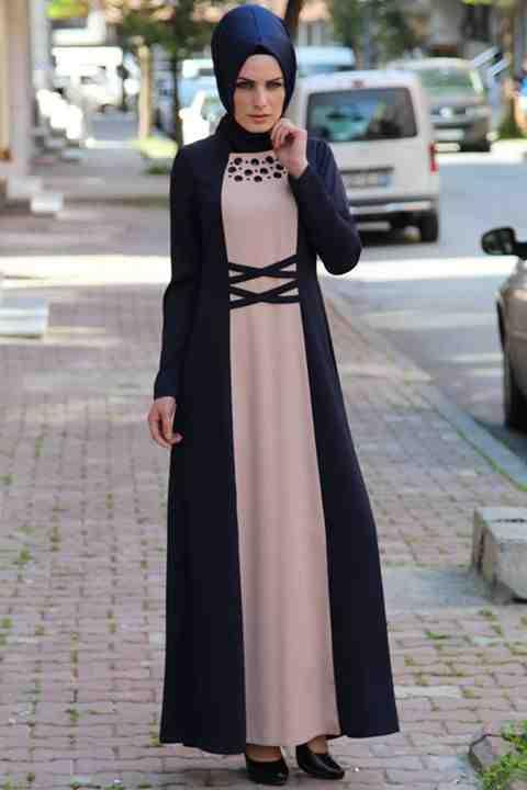 بالصور اجمل ملابس محجبات 2019 , يا جمالو علي الشياكة 478 2