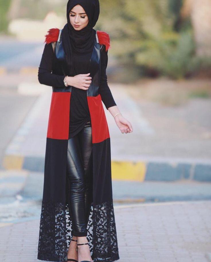 بالصور اجمل ملابس محجبات 2019 , يا جمالو علي الشياكة 478 6