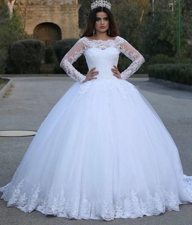 بالصور فساتين زفاف مودرن 2019 , اجمل واحدث فستان ليلة العمر 480 2