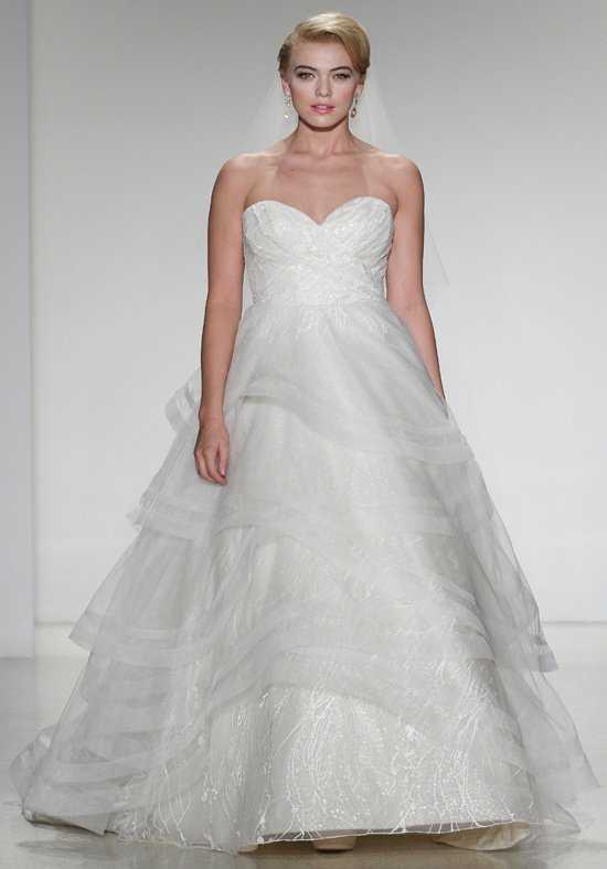 بالصور فساتين زفاف مودرن 2019 , اجمل واحدث فستان ليلة العمر 480 8