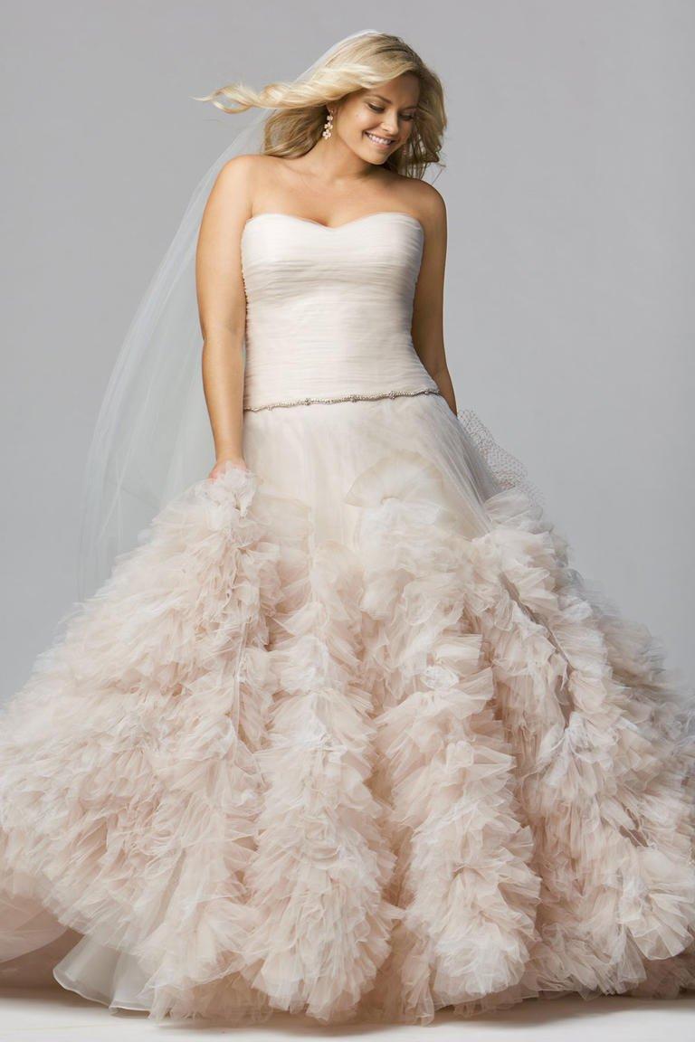 بالصور افخم فساتين زفاف 2019 , اجمل ازياء ليلة العمر 495 12