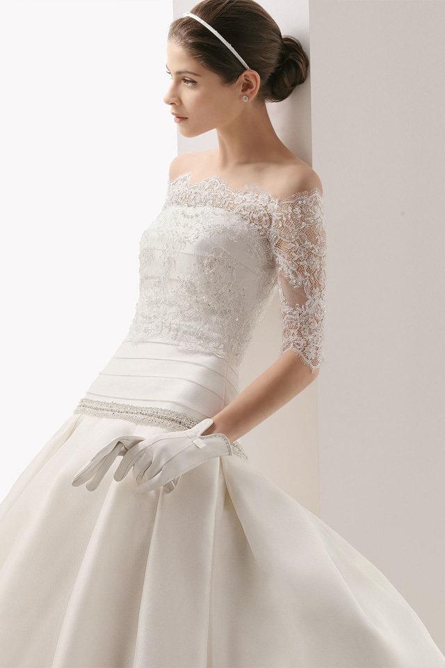 بالصور افخم فساتين زفاف 2019 , اجمل ازياء ليلة العمر 495 19