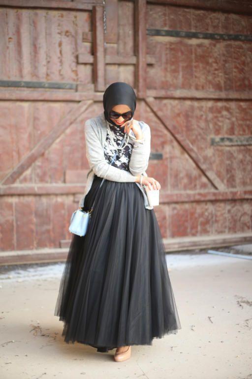 بالصور فساتين محجبات طويلة , ازياء حشمة للبنات , اجمل الملابس لاحلى سيدات 498 10
