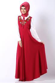 بالصور فساتين محجبات طويلة , ازياء حشمة للبنات , اجمل الملابس لاحلى سيدات 498 3