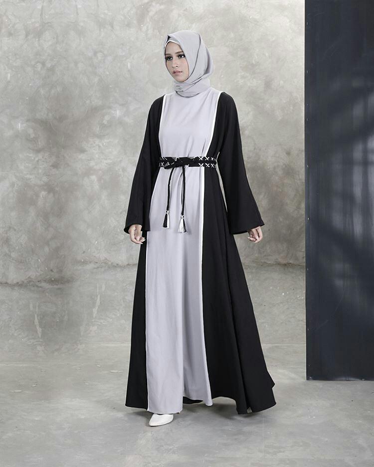 بالصور فساتين محجبات طويلة , ازياء حشمة للبنات , اجمل الملابس لاحلى سيدات 498 6