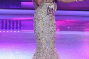 صورة اجمل تشكيلة لفساتين نجوى كرم الجديده 2020 , احدث مجموعه من الموديلات الجميلة