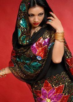 بالصور ازياء سهره سودانيه , ملابس السودانيات , اجمل الملابس للبشرة السمراء 509 9