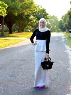 بالصور ازياء محجبات فيس بوك 2019 , اجمل ملابس محجبات , الحجاب والزى الذى يتناسب معه 52 1