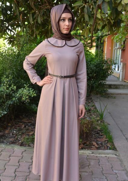 بالصور ازياء محجبات فيس بوك 2019 , اجمل ملابس محجبات , الحجاب والزى الذى يتناسب معه 52 10