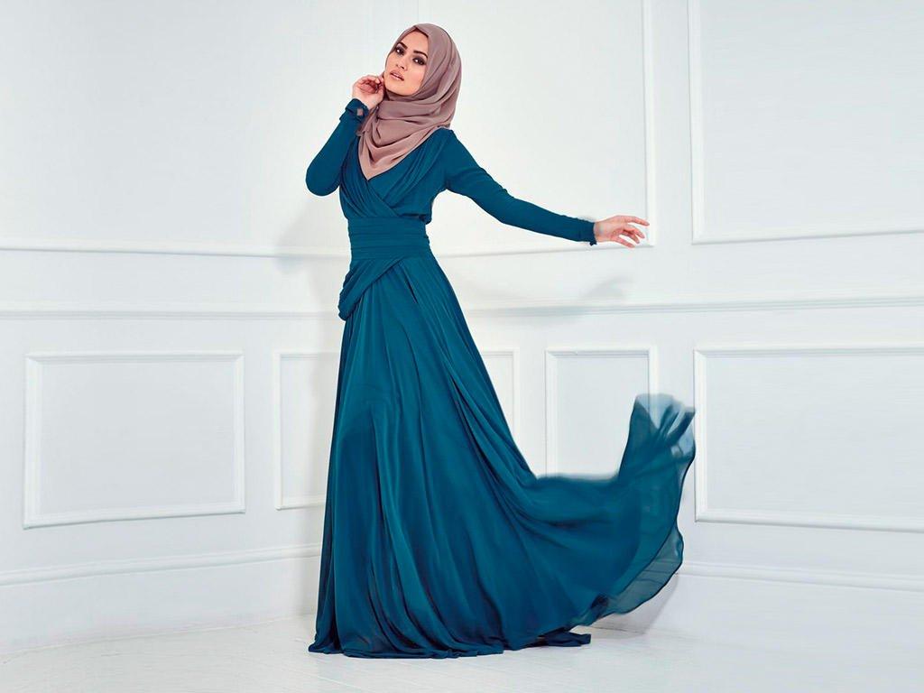 بالصور ازياء محجبات فيس بوك 2019 , اجمل ملابس محجبات , الحجاب والزى الذى يتناسب معه 52 4