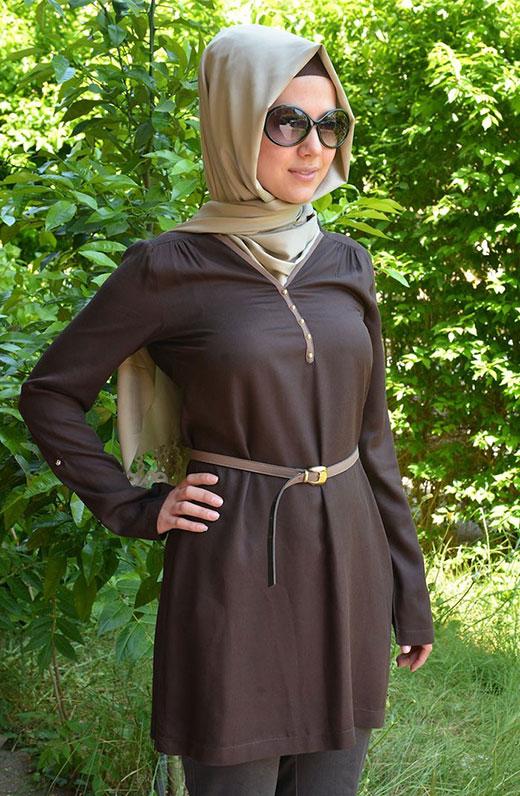 بالصور ازياء محجبات فيس بوك 2019 , اجمل ملابس محجبات , الحجاب والزى الذى يتناسب معه 52 5