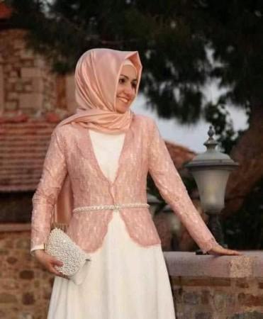 بالصور ازياء محجبات فيس بوك 2019 , اجمل ملابس محجبات , الحجاب والزى الذى يتناسب معه 52 9