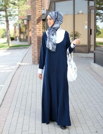 صوره ملابس محجبات 2019 , اجمل الملابس مع ارتداء الحجاب