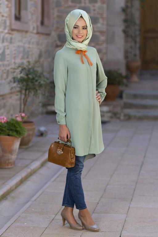 بالصور ملابس محجبات 2019 , اجمل الملابس مع ارتداء الحجاب 56 3