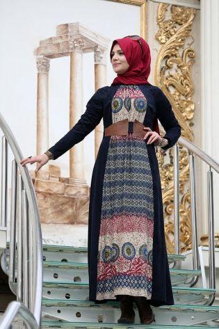 بالصور ملابس محجبات 2019 , اجمل الملابس مع ارتداء الحجاب 56 6