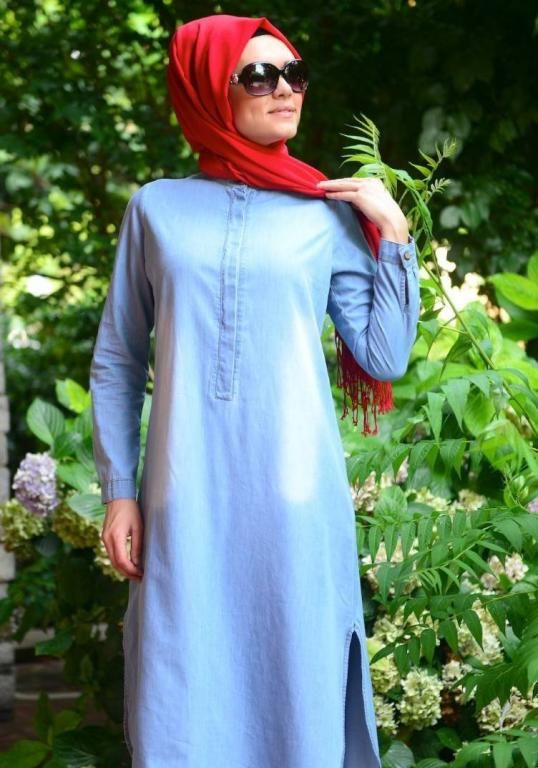 بالصور ملابس محجبات 2019 , اجمل الملابس مع ارتداء الحجاب 56 8