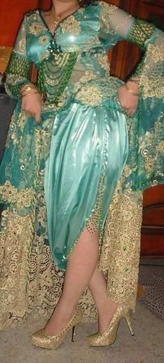 صوره فساتين جزائرية للاعراس صيف 2019 , اشيك ملابس لبنات الجزائر