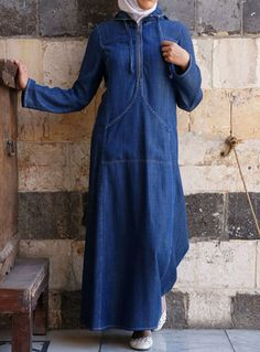 صور جينز عبايات , روعة لكل السيدات , اجمل الموديلات التى تتميز بالبساطه
