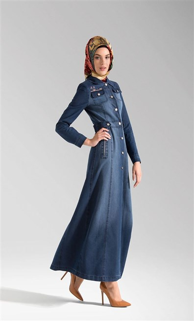 بالصور جينز عبايات , روعة لكل السيدات , اجمل الموديلات التى تتميز بالبساطه 69 11