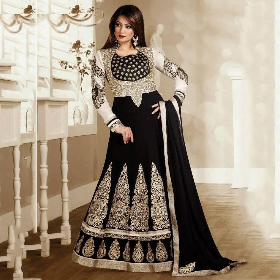 بالصور ازياء هندية للمحجبات , ملابس هندية جميلة , تطريز فخم جداا وجميل 83 1