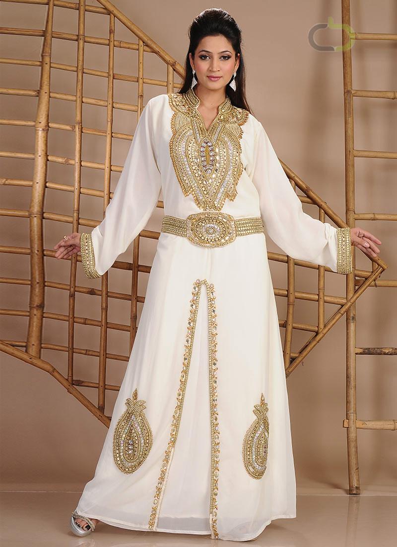 بالصور ازياء هندية للمحجبات , ملابس هندية جميلة , تطريز فخم جداا وجميل 83 7