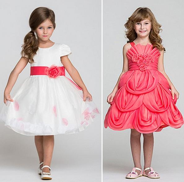 صورة فساتين العيد بناتي , ملابس خروج بناتي للبرنسيسات الحلوين