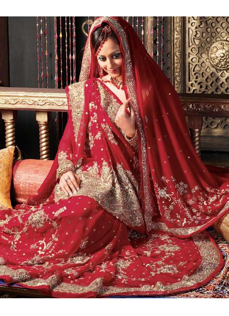 بالصور فساتين محجبات هندية , ازياء رائعة مطرزة 185 7