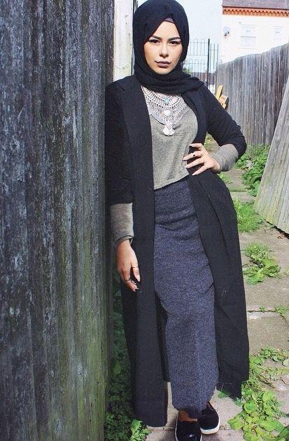 صورة ازياء مراهقات للمحجبات 2020 , ملابس مراهقات تجنن 268 7