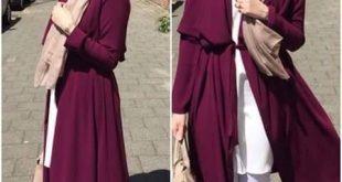 صورة ازياء مراهقات للمحجبات 2019 , ملابس مراهقات تجنن
